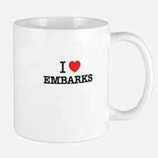 I Love EMBARKS Mugs