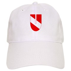 http://i3.cpcache.com/product/189264276/scuba_flag_letter_u_baseball_cap.jpg?color=White&height=240&width=240