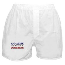 ANNALISE for congress Boxer Shorts