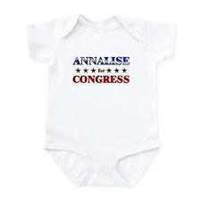 ANNALISE for congress Infant Bodysuit