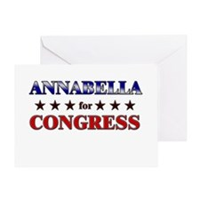 ANNABELLA for congress Greeting Card