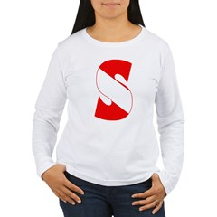 http://i3.cpcache.com/product/189265772/scuba_flag_letter_s_tshirt.jpg?color=White&height=240&width=240