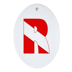 http://i3.cpcache.com/product/189266540/scuba_flag_letter_r_oval_ornament.jpg?height=240&width=240