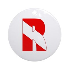 http://i3.cpcache.com/product/189266541/scuba_flag_letter_r_ornament_round.jpg?height=240&width=240