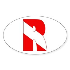 http://i3.cpcache.com/product/189266555/scuba_flag_letter_r_oval_decal.jpg?color=White&height=240&width=240