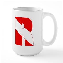 http://i3.cpcache.com/product/189266627/scuba_flag_letter_r_mug.jpg?height=240&width=240