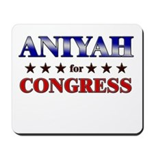 ANIYAH for congress Mousepad