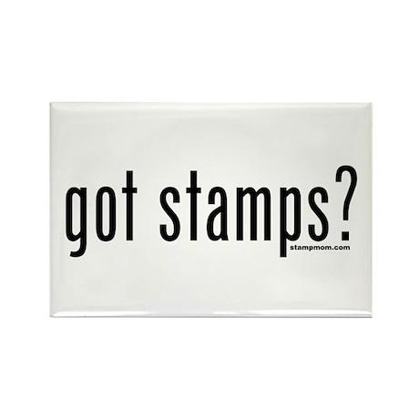 Got Stamps? Rectangle Magnet