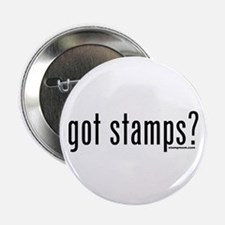 """Got Stamps? 2.25"""" Button"""