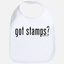 Got Stamps? Bib