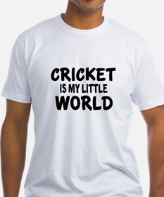 Cricket Is My Little World Shirt