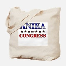 ANIKA for congress Tote Bag