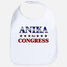 ANIKA for congress Bib