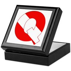 http://i3.cpcache.com/product/189268978/scuba_flag_letter_q_keepsake_box.jpg?color=Black&height=240&width=240