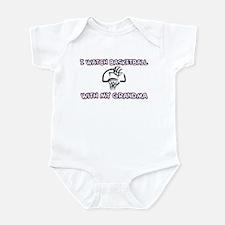 Grandma - Basketball Infant Creeper