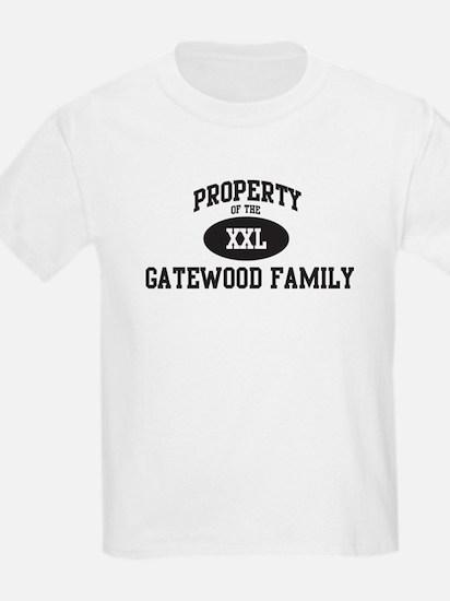 Property of Gatewood Family T-Shirt