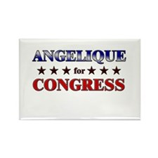 ANGELIQUE for congress Rectangle Magnet