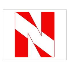 http://i3.cpcache.com/product/189272098/scuba_flag_letter_n_posters.jpg?height=240&width=240