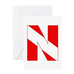 http://i3.cpcache.com/product/189272108/scuba_flag_letter_n_greeting_card.jpg?height=240&width=240