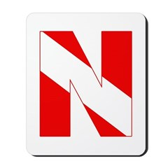http://i3.cpcache.com/product/189272110/scuba_flag_letter_n_mousepad.jpg?height=240&width=240