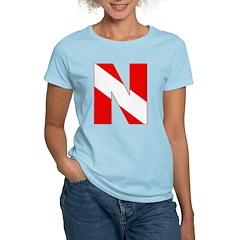 http://i3.cpcache.com/product/189272136/scuba_flag_letter_n_tshirt.jpg?color=LightBlue&height=240&width=240