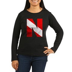 http://i3.cpcache.com/product/189272164/scuba_flag_letter_n_tshirt.jpg?color=Black&height=240&width=240