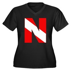 http://i3.cpcache.com/product/189272172/scuba_flag_letter_n_womens_plus_size_vneck_dark.jpg?color=Black&height=240&width=240