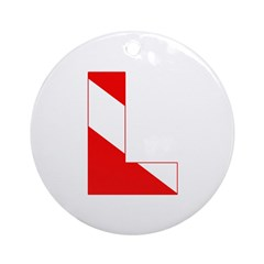 http://i3.cpcache.com/product/189274617/scuba_flag_letter_l_ornament_round.jpg?height=240&width=240