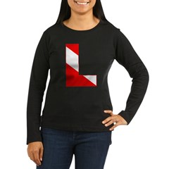 http://i3.cpcache.com/product/189274716/scuba_flag_letter_l_tshirt.jpg?color=Black&height=240&width=240