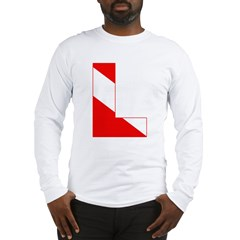 http://i3.cpcache.com/product/189274722/scuba_flag_letter_l_long_sleeve_tshirt.jpg?color=White&height=240&width=240