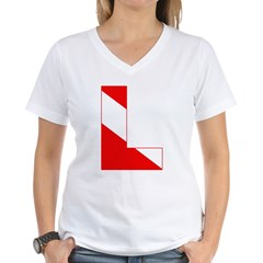 http://i3.cpcache.com/product/189274727/scuba_flag_letter_l_shirt.jpg?color=White&height=240&width=240