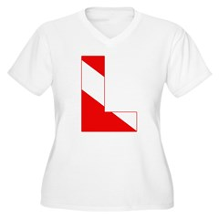 http://i3.cpcache.com/product/189274729/scuba_flag_letter_l_tshirt.jpg?color=White&height=240&width=240