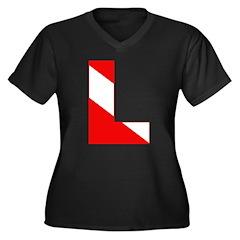 http://i3.cpcache.com/product/189274732/scuba_flag_letter_l_womens_plus_size_vneck_dark.jpg?color=Black&height=240&width=240