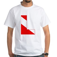 http://i3.cpcache.com/product/189274741/scuba_flag_letter_l_shirt.jpg?color=White&height=240&width=240