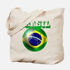 Brasil Football Tote Bag