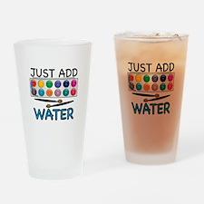 Add Water Drinking Glass