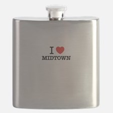 I Love MIDTOWN Flask