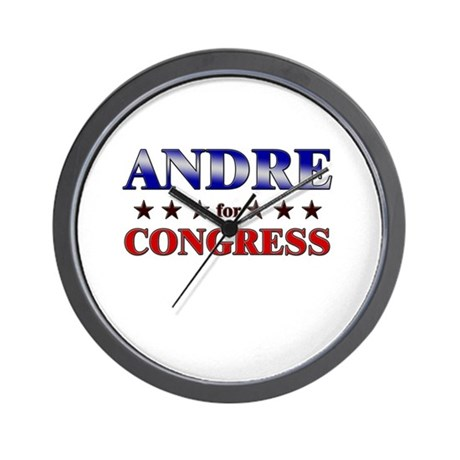 ANDRE for congress Wall Clock