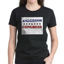 ANDERSON for congress Tee