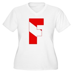 http://i3.cpcache.com/product/189280581/scuba_flag_letter_f_tshirt.jpg?color=White&height=240&width=240