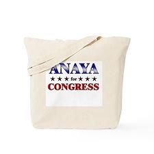 ANAYA for congress Tote Bag