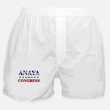 ANAYA for congress Boxer Shorts