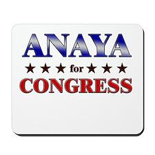 ANAYA for congress Mousepad