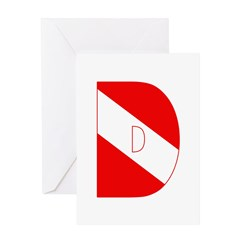 http://i3.cpcache.com/product/189282515/scuba_flag_letter_d_greeting_card.jpg?height=240&width=240