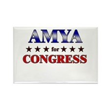 AMYA for congress Rectangle Magnet