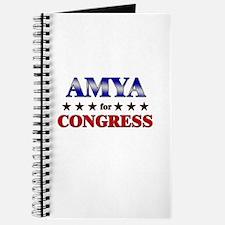 AMYA for congress Journal