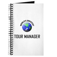 World's Greatest TOUR MANAGER Journal