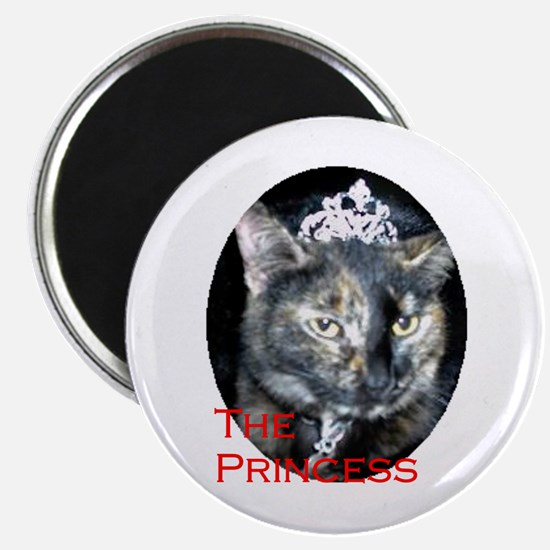 Funny Calico cat art Magnet