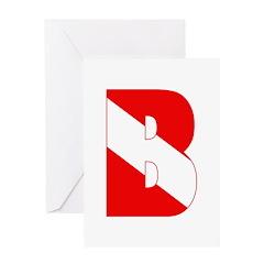 http://i3.cpcache.com/product/189284590/scuba_flag_letter_b_greeting_card.jpg?height=240&width=240