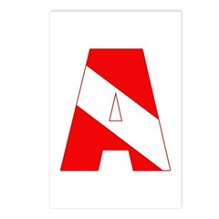 http://i3.cpcache.com/product/189285222/scuba_flag_letter_a_postcards_package_of_8.jpg?height=240&width=240